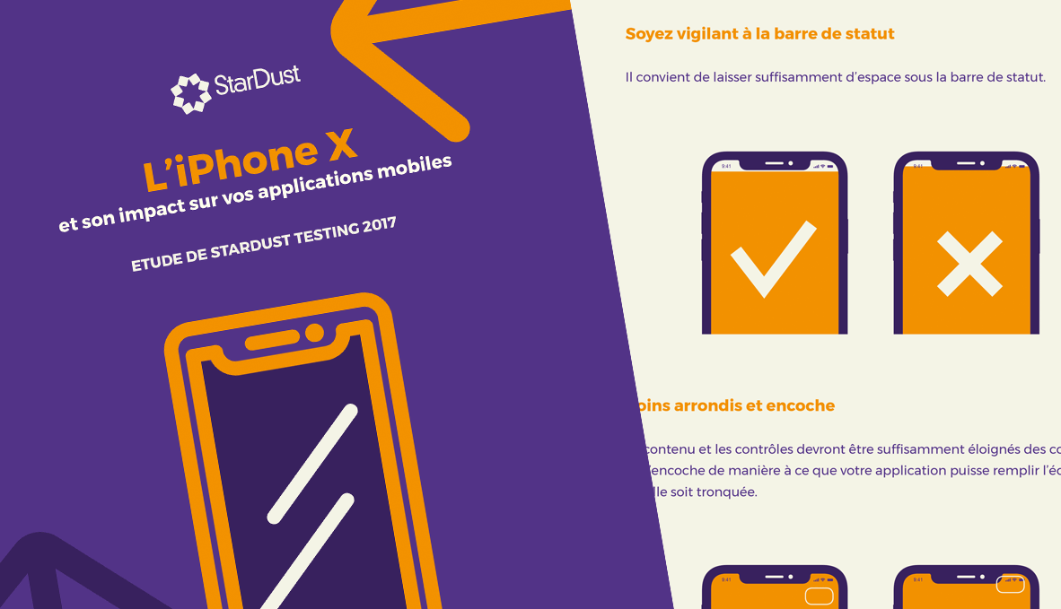 Livre Blanc : impact de l'iPhoneX sur vos applications mobiles